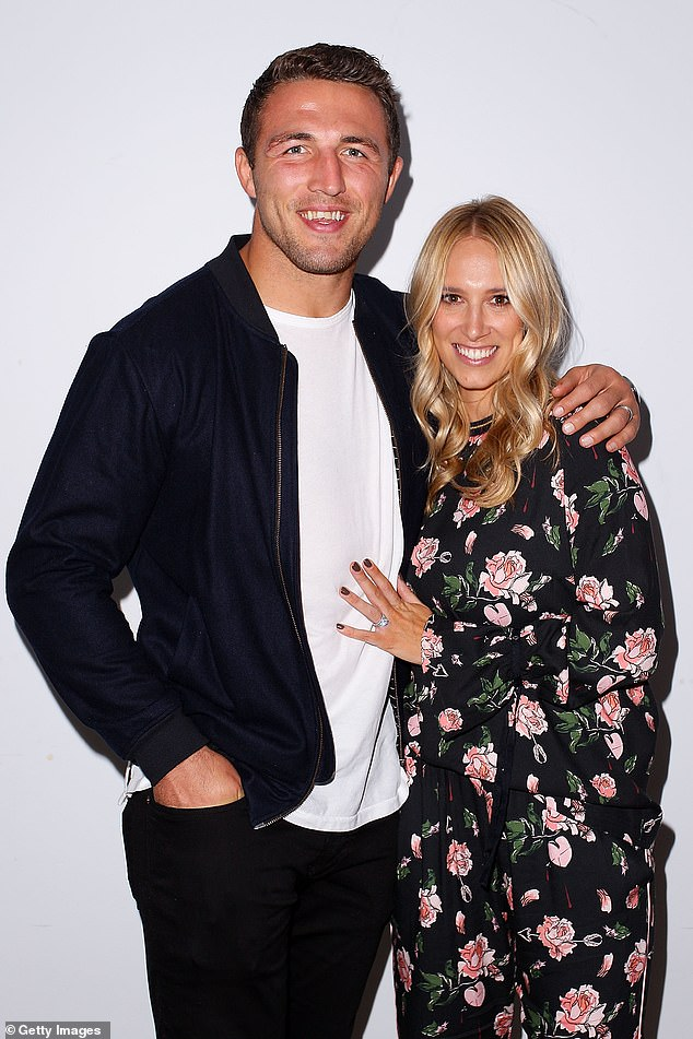 Candid: On Monday, Phoebe Burgess shared previously unseen photos from her devastating breakup with husband Sam saying she was 'heartbroken' and at her 'lowest point' - amid their legal battle. The pair are pictured in happier times, in May 2017