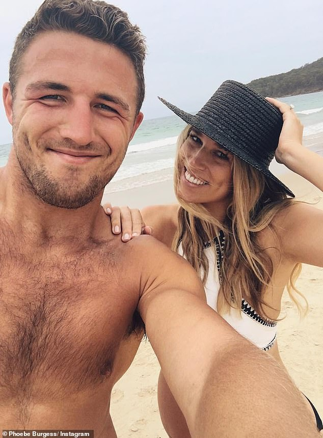 Over:Sam and Phoebe finalised their divorce in April this year. At the time, The Daily Telegraph reported that Phoebe had walked away with 70 per cent of the former couple's marital wealth