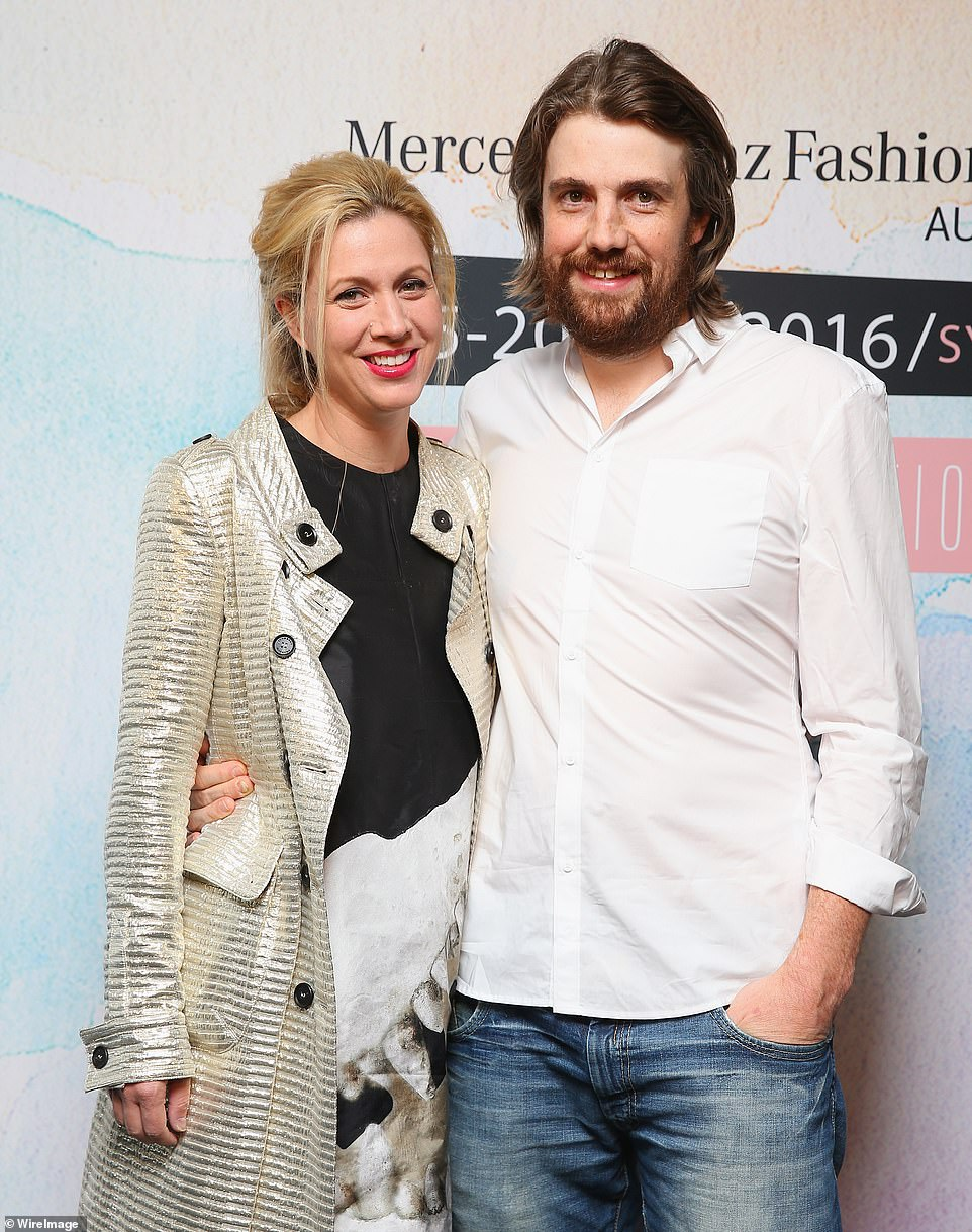 Some of Australia's richest billionaire business tycoons and celebrities will miss out on having big parties at their Sydney beach houses because of Covid restrictions. Atlassian software co-founder Mike Cannon-Brookes (pictured with his wife Annie) bought a $24.5million Newport house from Miss Universe Jennifer Hawkins in June