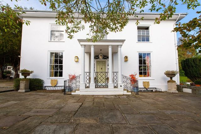 The final property the couple will be given the chance to visit will be the £3.5 million period property, Addington House, dating back to 1450, in the village of Addington, in Surrey
