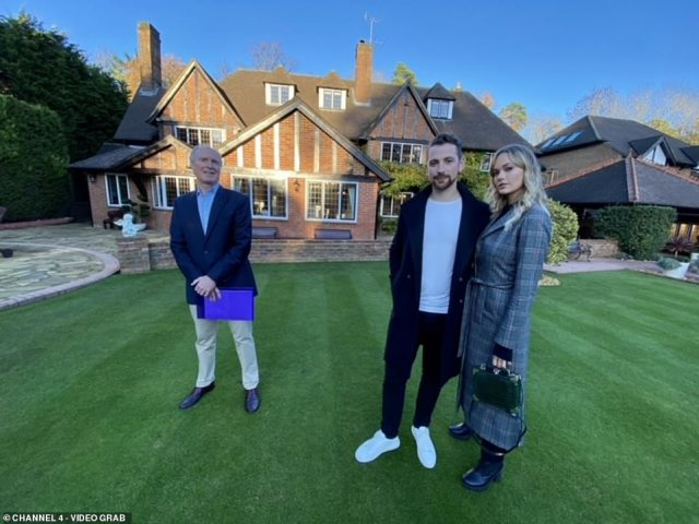 The couple were wowed by the home, which also comes with a landscaped garden by Chelsea winner Kate Gould, a swimming pool and a TV and games room