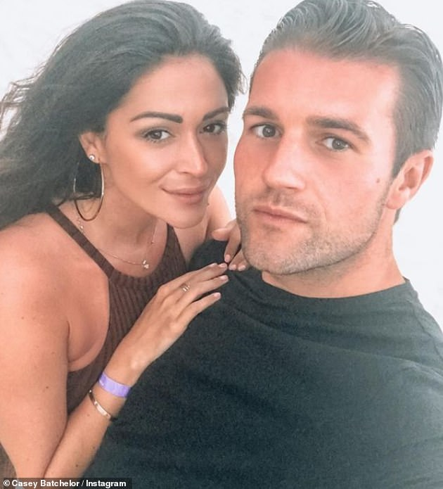 Her love: The reality star revealed earlier this month that she is already trying for another baby with fiancé Dane in new! Magazine, they are hoping for a baby boy