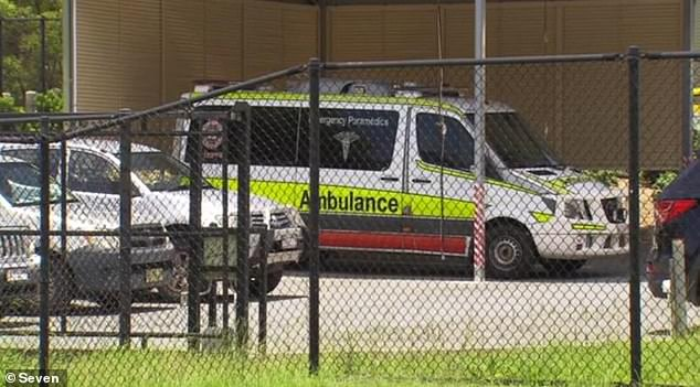 A police hunt is underway for two thieves who attacked a Gold Coast paramedic on Sunday night and robbed the ambulance of medicine