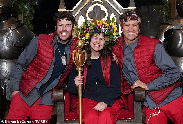 Cameo? Just last month, it was reported that Charlie and Joey Essex were set to make a cameo appearance on the 2020 series of I'm A Celebrity, which has now ended (winner Giovanna Fletcher pictured with campmates Jordan North and Vernon Kay L-R earlier this month)