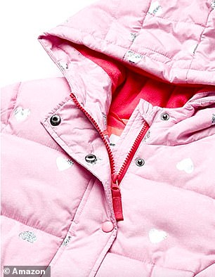 The coat will keep your kids warm and toasty in the winter months