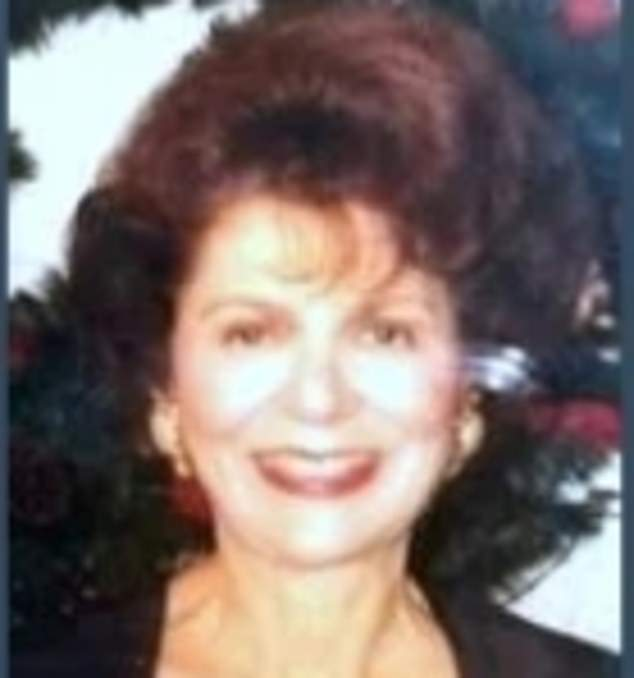 Ann Viaros Samios died in Miami aged 96 on April 30 yet her obituary was only published this week following a feud between her daughters that delayed it for eight months