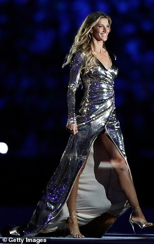 Legendary: Gisele's historic runway walk at the opening ceremony of the 2016 Summer Olympics in Rio