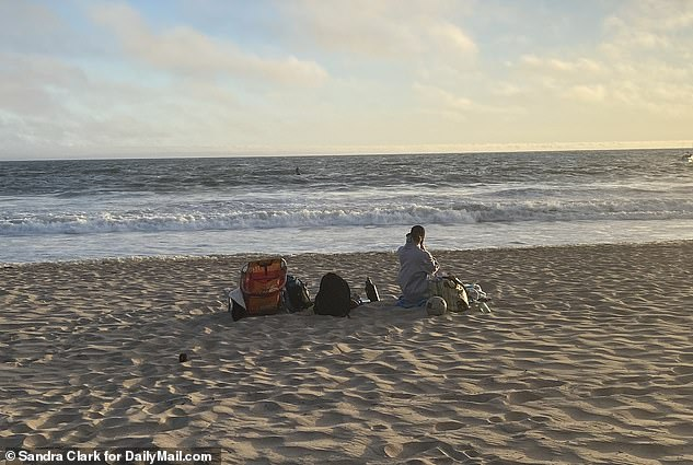 Siliana remained on the beach while the search continued for Shad and was seen staring out into the ocean while the coast guard conducted a search