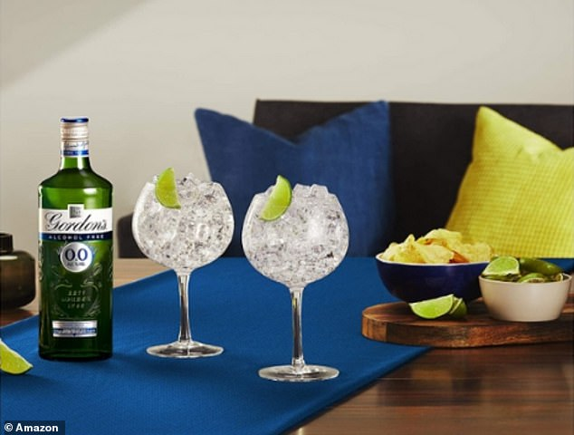 Gordon's Gin has launched it's first alcohol free drink and it's now available to pre-order on Amazon priced at £17.16