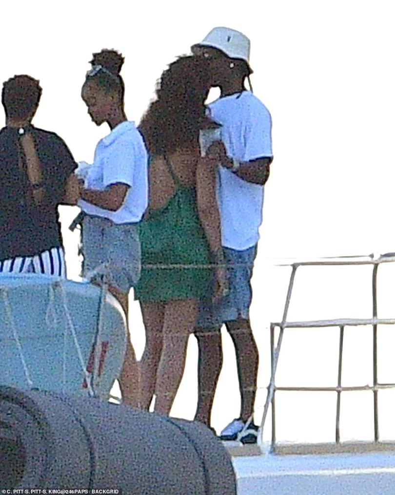 We found love? Rihanna put on quite the loved up display with rumored boyfriend A$AP Rocky in her native Barbados on Sunday