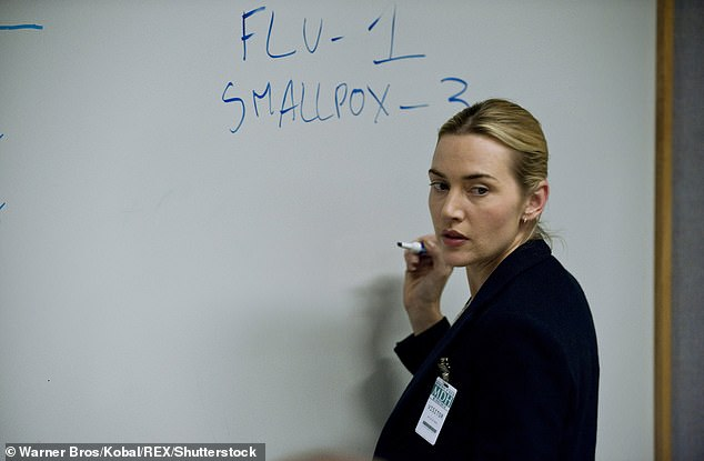 Real outbreak:Contagion writer Scott Z. Burns revealed in an interview with Slate in March that he was stunned at 'how similar' the real-life outbreak mirrored the script he wrote