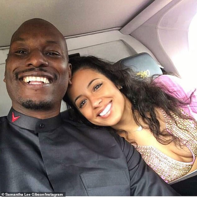 Tyrese and Samantha added: 'As if 2020 hasn't already been extremely grueling and challenging to us all, we wanted to mutually speak on this now to keep this energy in 2020 and not take this energy into 2021' (pictured March 10)