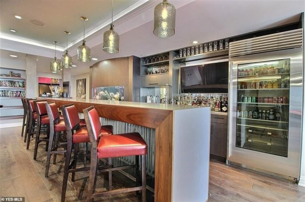 Fun Time: The property completes the level of entertainment with a full bar (above)