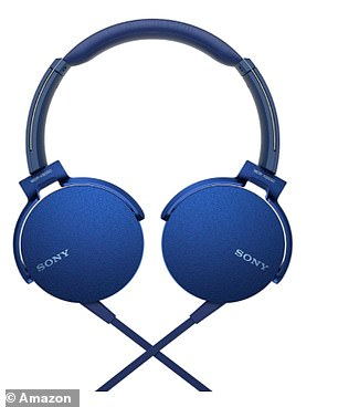 The Sony MDR-XB550AP Extra Bass Headphones have received nearly 1,800 five-star ratings on Amazon