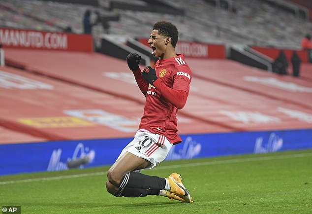 Marcus Rashford's injury time winner against Wolves pushed United within reach of the top