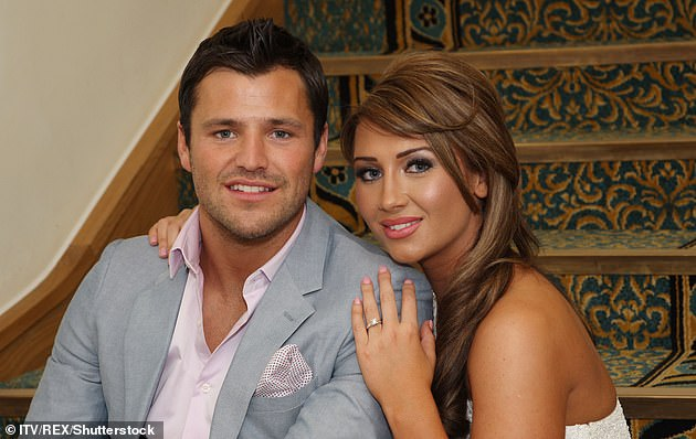 Childhood sweetheart:Lauren was previously engaged to her TOWIE co-star Mark Wright, whom she dated for more than a decade (pictured in 2011)