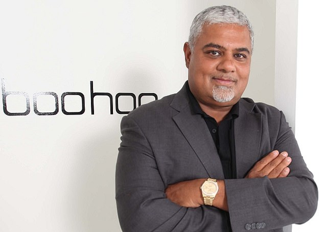 Villain: Boohoo founder Mahmud Kamani's empire threatened to crash down as the allegations of sweat shop working conditions sparked a sell-off