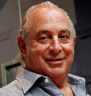 Villain: The collapse of Arcadia will make 2020 yet another year Sir Philip Green will want to forget