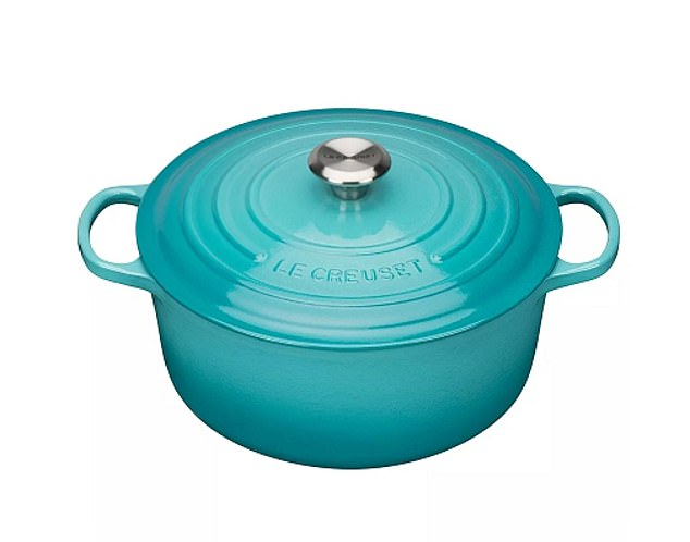 40% off:For fancy cookware, there's 40 per cent off a Le Creuset cast iron casserole pot at John Lewis, now £147 (johnlewis.com)