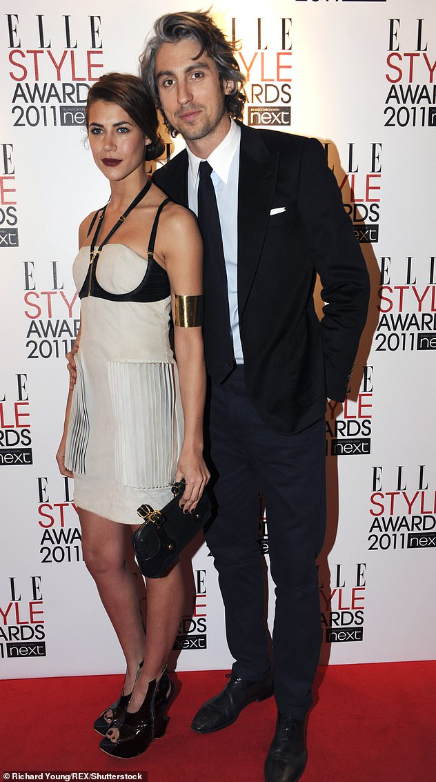 Old flame: The actress previously dated George Lamb for almost six years, before the couple parted ways in 2014 [pictured in February 2011]