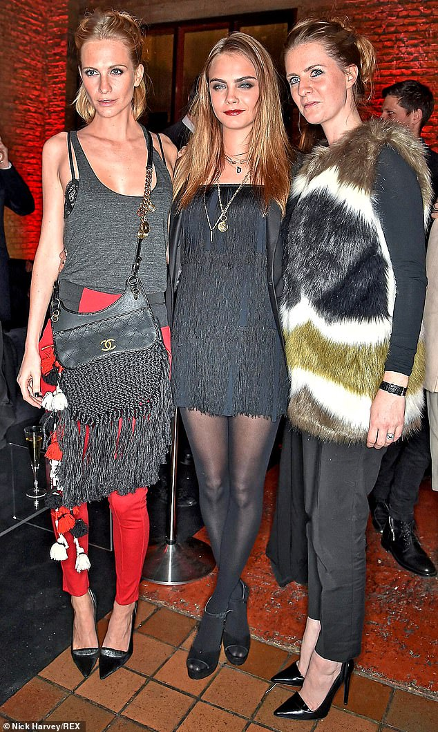 Why is Cara Delevingne's clan so keen to keep their lavish Christmas bash under wraps?