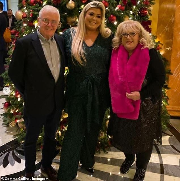Scary: Gemma recently said her parents are 'extremely unwell' after they both tested positive for COVID-19 and she urged followers to stay safe and heed all necessary guidelines