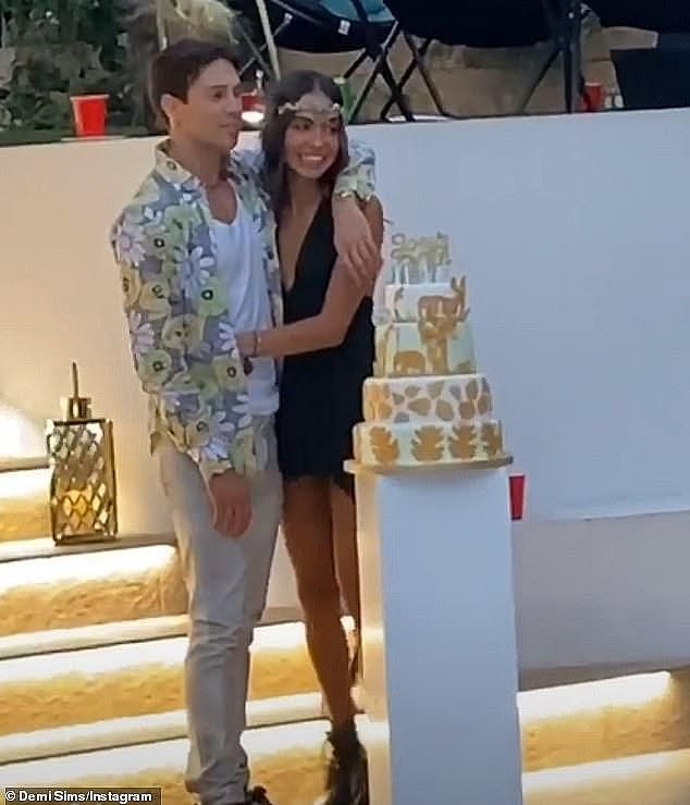 Romance: The Brazilian model spoke candidly about her whirlwind romance with the TV personality, 30, which is said to have ended in October after spending so much time together in lockdown took its toll