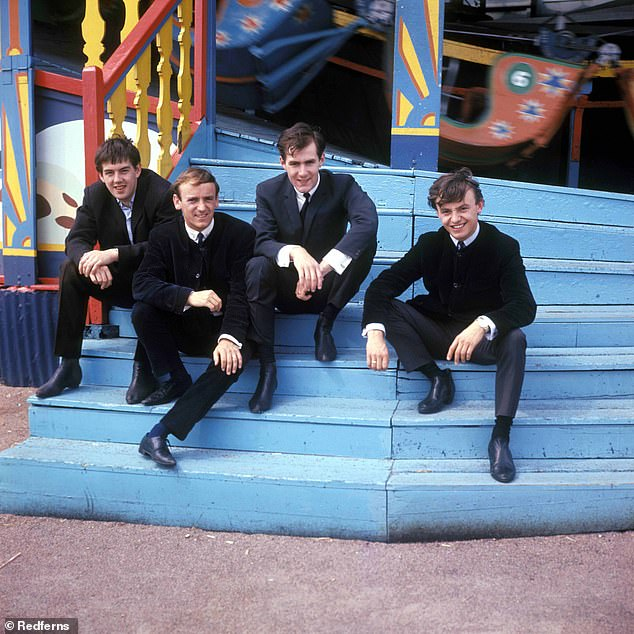 Swinging sixties: Gerry also had success with hits including I Like It, How Do You Do It, and Ferry Across The Mersey - the latter being a nod to Mersyside, where the band originated [pictured in 1960]
