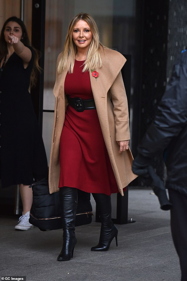 Carol Vorderman, 60, says the thought of a relationship makes her feel 'sick'