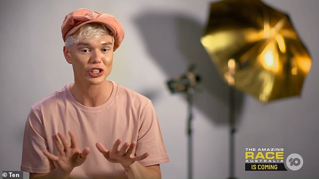 Pictured: I'm A Celebrity... Get Me Out Of Here! continues Monday at 7.30pm on Ten. Pictured: I'm A Celebrity 2021 contestant Jack Vidgen