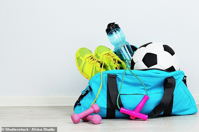 The addition of sporting gear (pictured) can result in a hefty $970 bill per child for the 2021 school year