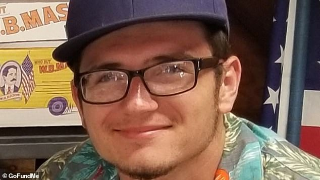 Raistlin Ruther, 18, from Riverhead, Long Island in New York took to the water on Saturday morning at around 8am but did not return