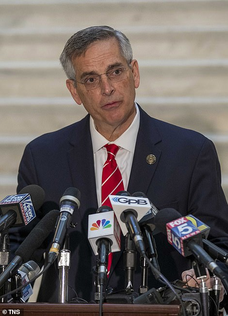 Georgia's Republican Secretary of State Brad Raffensperger