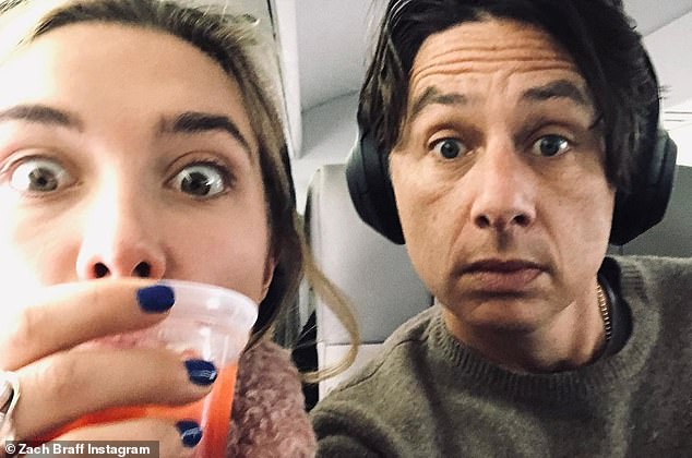 Sweet: The Scrubs actor began dating Florence in August 2018, and proved they are still going strong despite vocal critics over their 20 year age gap