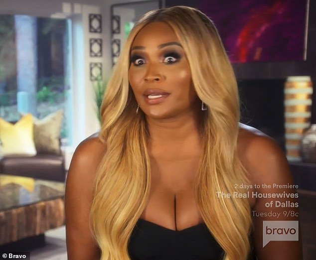 Showing support:'I am so here for Porsha Luther King,' said her friend Cynthia