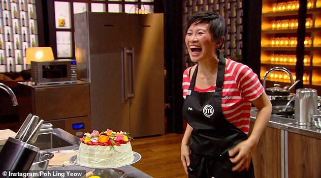 Being honest: The Malaysian-born cook said it completely changed the 'vibe' on the MasterChef Australia set