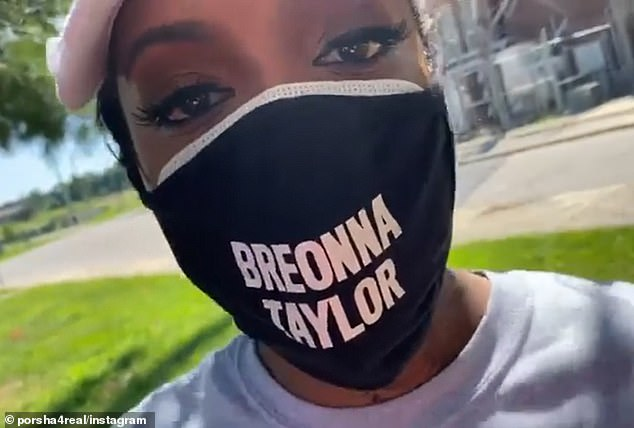 No regrets: She told ET Online last month: 'I don't regret any of it. I don't regret one hour in jail, because our whole thing was to make sure that Breonna Taylor's name stayed in the forefront'