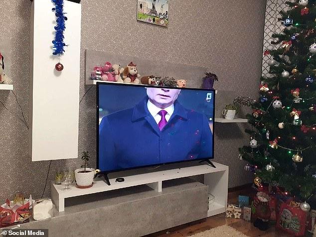 Russian President Vladimir Putin's head was cut off byKaliningrad-based stationKaskad TV