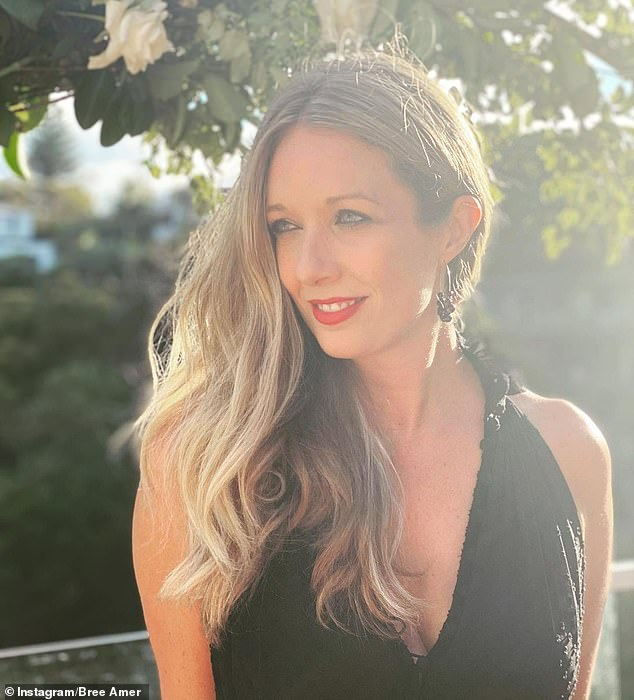 New path: Bree has become a marriage celebrant and wed her first couple in December. The blonde, who studied for 18 months, told The Daily Telegraph's Confidential on Monday that it is 'so joyful in a time where there is a lot of negativity'