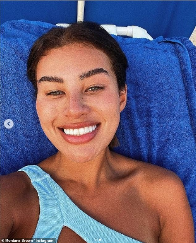 Living it up:Prior to her jaunt in Barbados, the reality star spent time in the Maldives on a work trip