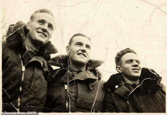Morton was captured after he jumped out of a blazing Lancaster bomber as it was shot down in a raid over Berlin. But after being taken to a PoW camp in Lithuania, he survived two gruelling 'death marches' back towards Germany