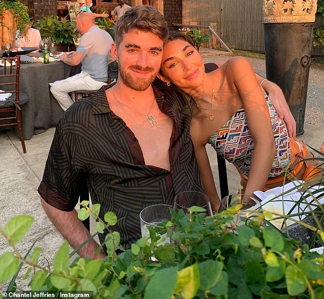 Holiday romance: The duo spent New Year's Eve in the fashionable holiday destination, which also happened to be the birthday of Drew