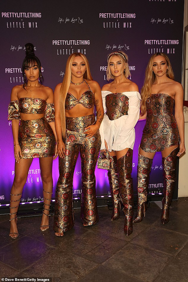 Farewell! The pop star confirmed her permanent departure from Little Mix (pictured in 2019) in December, after revealing she was taking a temporary hiatus from all work commitments