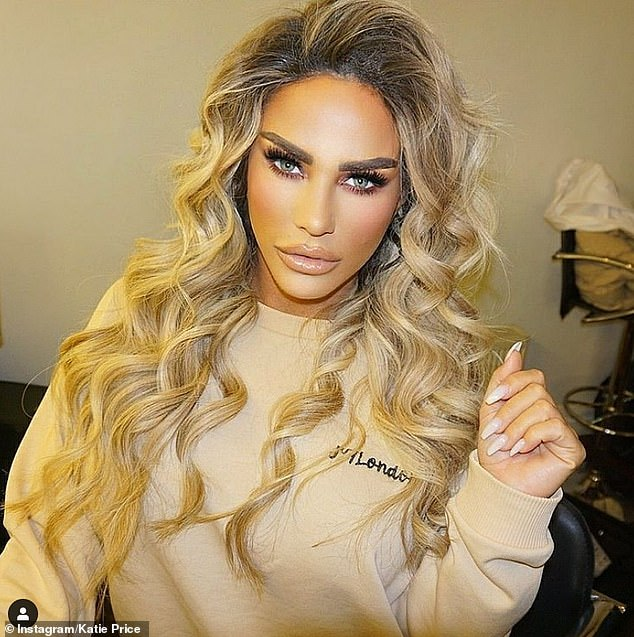 Oh!Katie Price left fans baffled as she raffled off her used £1,000 hair extensions in an Instagram post on Sunday