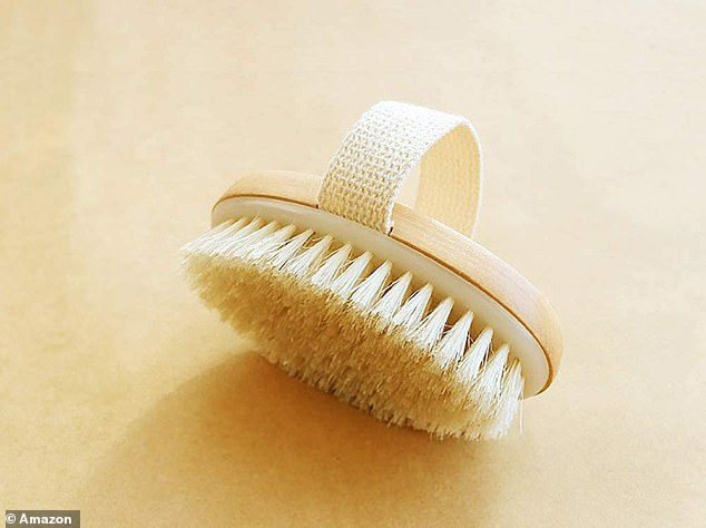 Transform your body: Regular dry brushing is believed to significantly reduce the appearance of cellulite