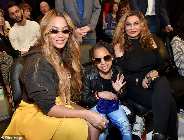 Queen mom: Beyonce, 38, pays tribute to mom Tina Knowles on her 67th birthday as she gushes 'You are my queen,' while sharing a photo of the Knowles matriarch in her heyday; pictured 2018