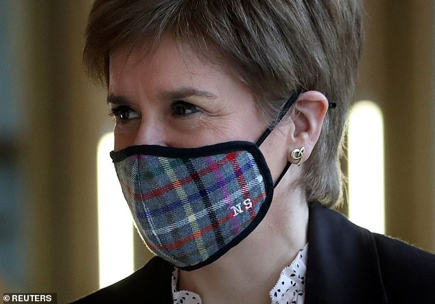 Scotland's First Minister Nicola Sturgeon placed the country in lockdown on Monday