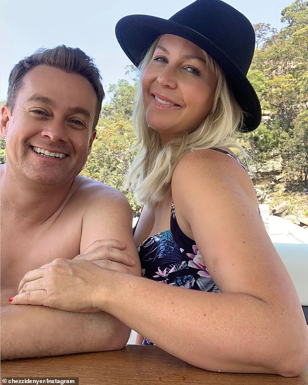Candid: On Wednesday, Grant Denyer's wife, Chezzi revealed that she thinks her husband is a 'terrible candidate' for I'm A Celebrity... Get Me Out Of Here!