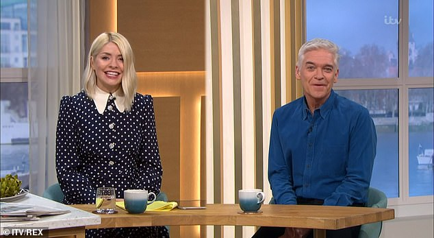 She back!It comes as Holly made her return to This Morning following a two-day absence