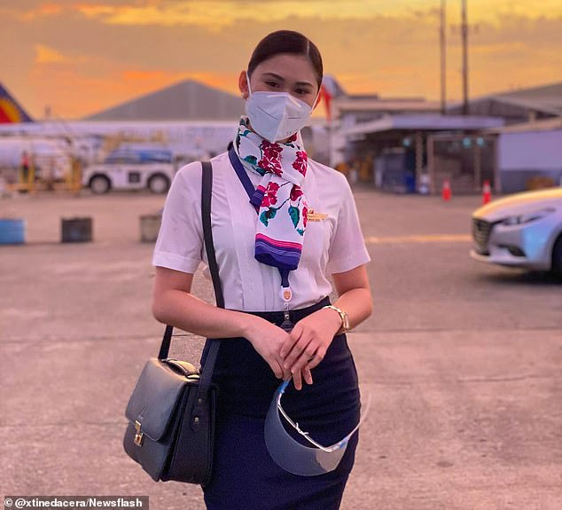 She had checked in with colleagues to the four-star hotel in the financial city of Makati ready for a night of celebration